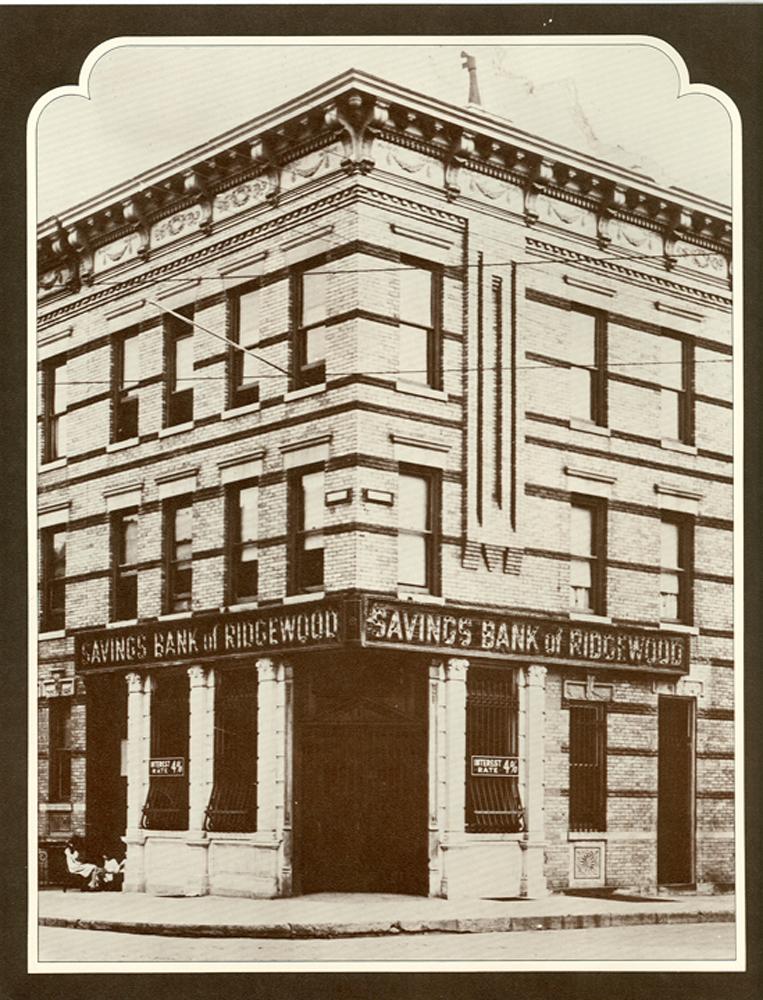 Historical photo of Ridgewood's first location