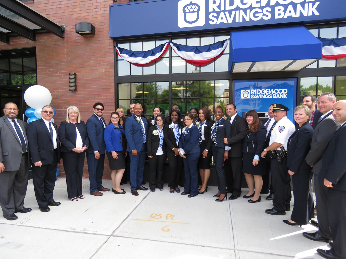 The grand opening celebration at the Clinton Hill Branch