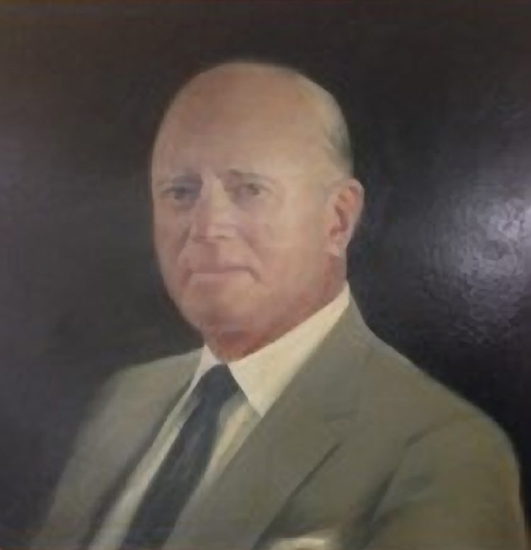 Portrait of James E McCartney